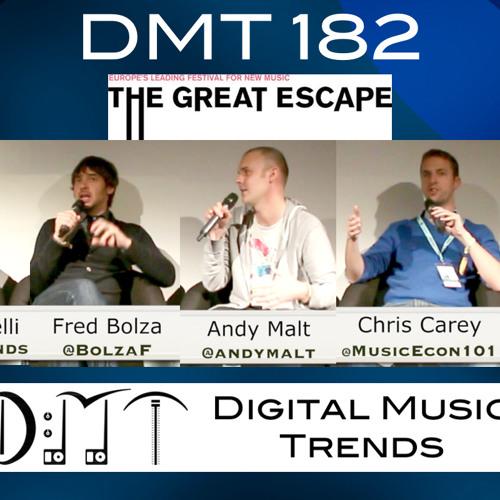DMT 182: Live at the Great Escape - Kobalt, Muve Music, D2C, Dubset, breakage, Revolt.tv