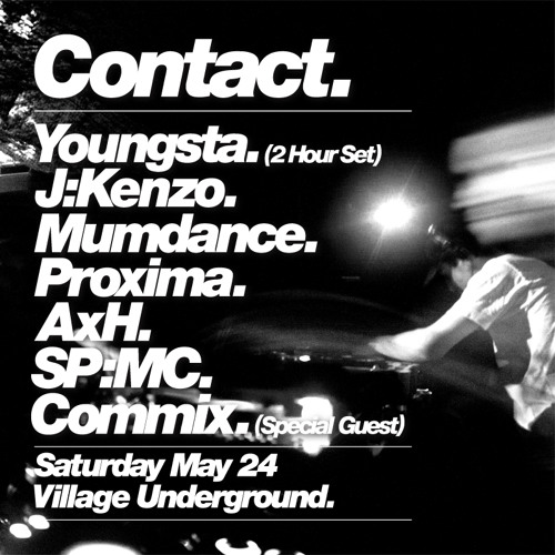 Youngsta - Contact - Fabric - 26 December