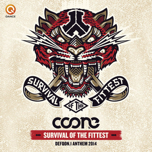 Coone - Survival Of The Fittest (Defqon.1 Anthem 2014) (Radio Edit)