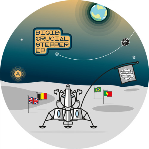 """A1. Digid feat Junior Dread- Guide Us Through The Storm [SAMPLE] OUT NOW - 12"""" Vinyl & Digital"""