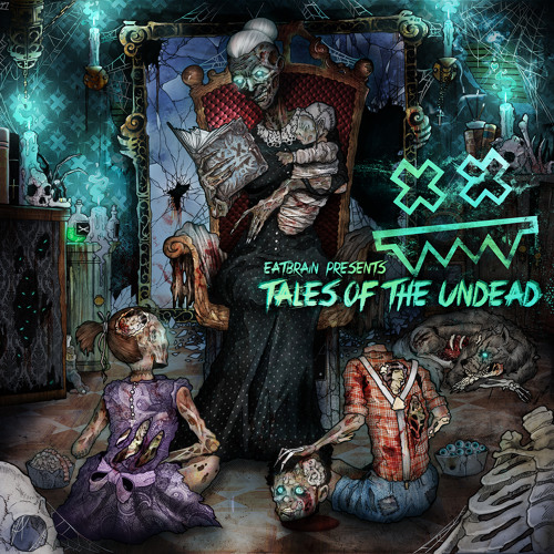 ZOMBIE CATS & CONCEPT VISION - Future Lights (Tales Of The Undead LP)