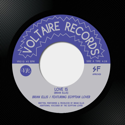 Brian Ellis - Love Is 7""