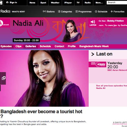 BBC Asian Network Nadia Ali