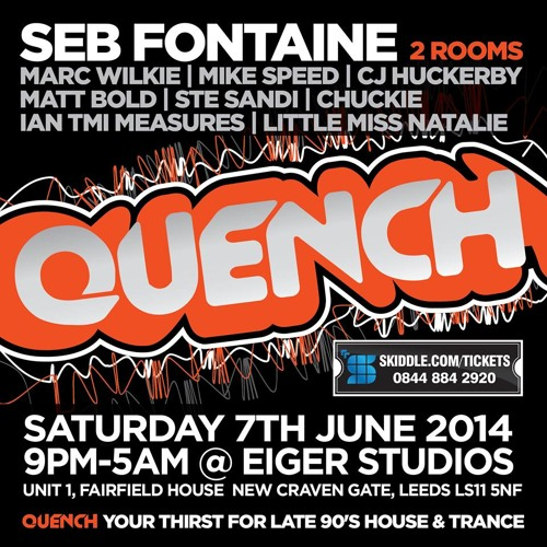 Quench @ Eiger Studios 7-6-14 Main Room Marc Wilkie Trance Promo Mix