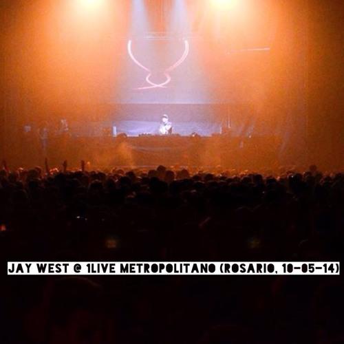 Jay West live @ 1Live Metropolitano Rosario (10-05-2014)