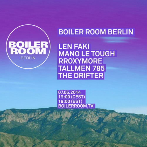 Boiler Room Techno: Len Faki Boiler Room Berlin DJ Set By BOILER ROOM