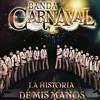 El señor de los anillos- Banda Carnaval (2014) Portada del disco