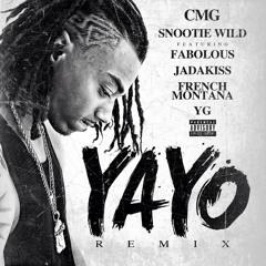 """Snootie Wild - """"Yayo"""" (Remix) ft. Fabolous, Jadakiss, YG & French Montana"""