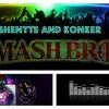 AFINIDAD SHENTTE Y SMASH BROS COVER