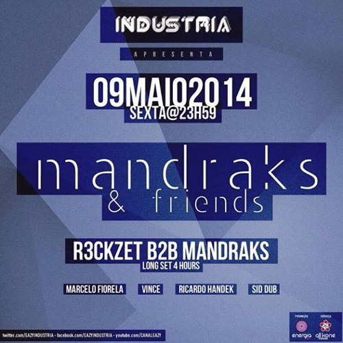09.05 MANDRAKS & FRIENDS // R3ckzet B2B Mandraks - long set 4 hours // Part 1 - free download !