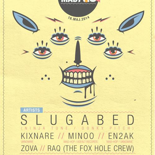 Slugabed - Very Much Reality (Mad-Hop vol.8)