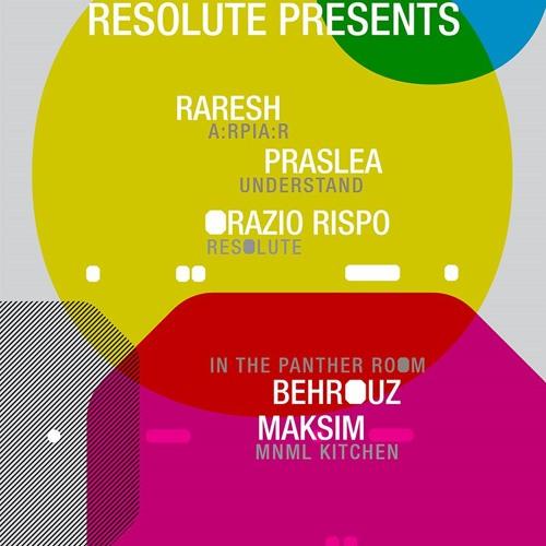 ReSolute presents: Orazio Rispo @ Output NY