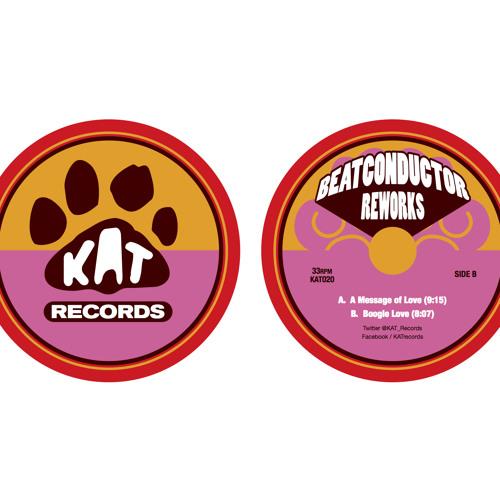Beatconductor 'A Message of Love' KAT020 Sampler