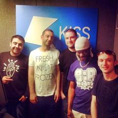 HEIST & DJ PLEASURE WITH DJ HYPE ON KISS FM -  14/05/2014