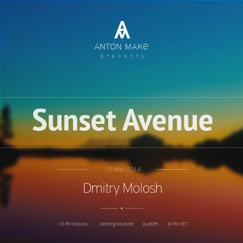 SUNSET AVENUE RADIO SHOW 008 Guest Dmitry Molosh [ 15.05.14 ] Voiceless