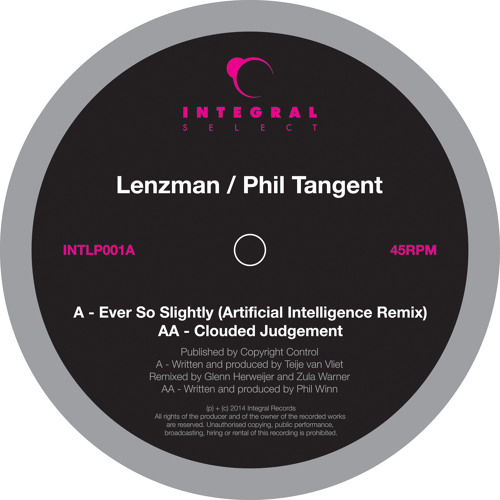 Lenzman -Ever So Slightly (Artificial Intelligence Remix) Friction Radio 1 Exclusive