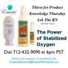 Stabilized Oxygen - Power Ingredient in Sparkle Tooth Polish & Sanitizer - Patti Vancil, RN 05 - 15 - 14