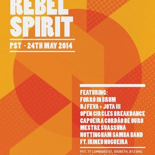 dj feva - brasil mix for Rebel Spirit, espirito brum, IDFB