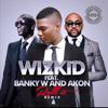 Download Roll It (Remix)-wizkid ft Banky W & Akon Mp3