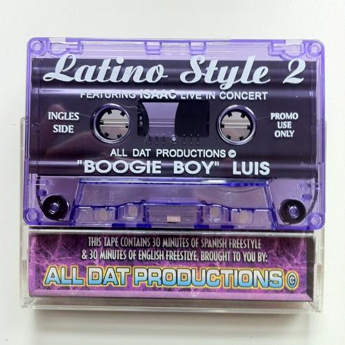 "LATINO STYLE FREESTYLE Vol. 2 (Freestyle Mix-Ingles Side) - Dj ""Boogie Boy"" Luis"