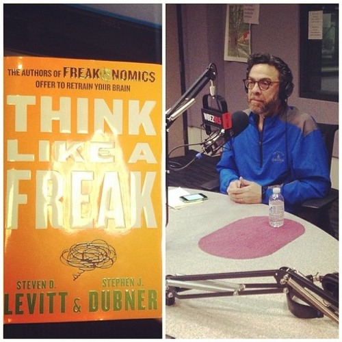 Freakonomics author offers to retrain your brain