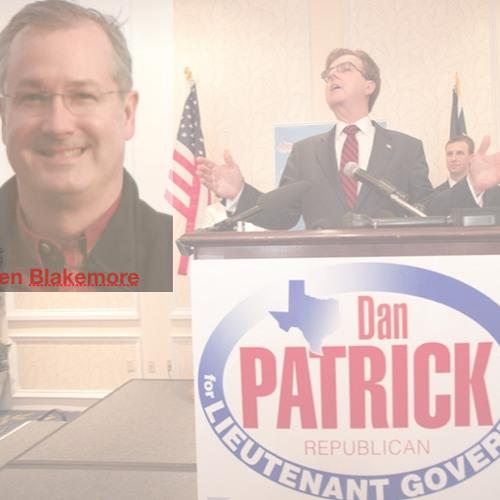 Michael Berry on Allen Blakemore Dan Patrick's Political Consultant