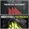 Mightyfools - Footrocker vs Hardwell Dyro feat Bright Lights - Never Say Goodbye (DJ JBHK EDIT)