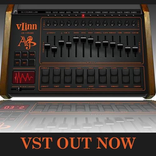 VLINN VST (LINNDRUM LM-1 Drums + EPROMS Loading/ Replacing)