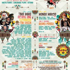 Luj the Admiral@Maeva beach with Timo Mass, Octave One, Technasia and Tim Green 20.04.2014