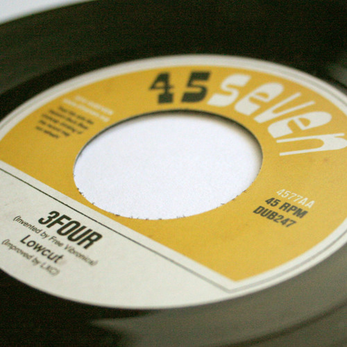 "Lowcut - 3Four (4577AA, 7"")"
