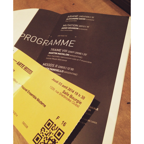 Ariane (2013) pour orchestre de chambre