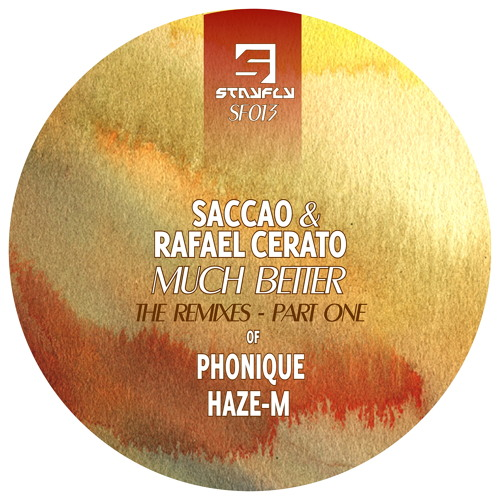 Saccao & Rafael Cerato - Much Better (Haze - M Remix) OUT 9th JUNE, 2014!!!