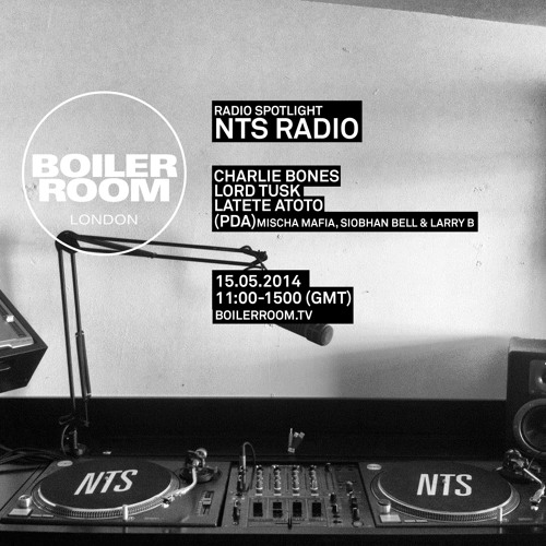 Latete Atoto - NTS Radio x Boiler Room London DJ Set by