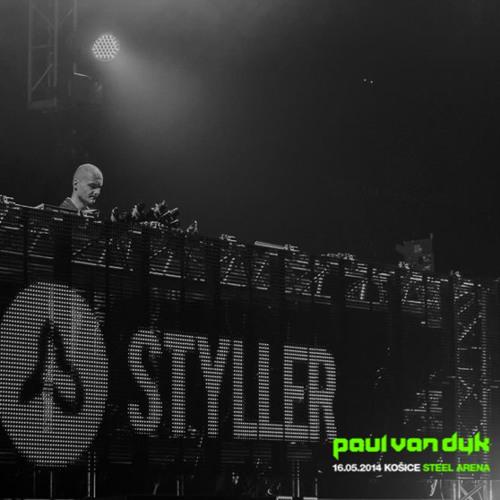 Styller @ Paul Van Dyk, Steel Arena, Košice (2014-05-16)