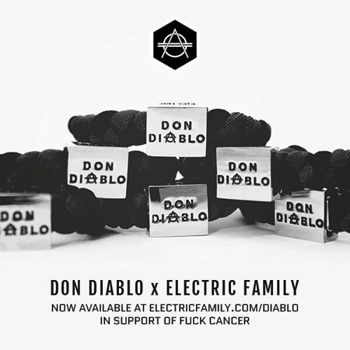 Don Diablo - Electric Family Charity Bracelet