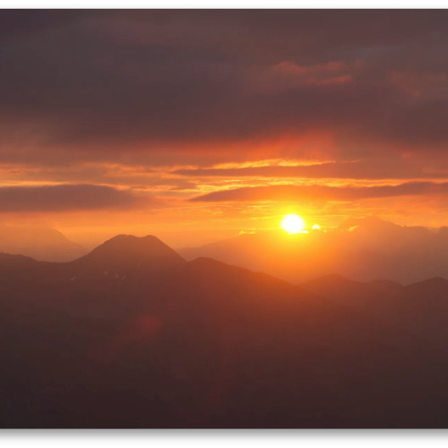 Andreas Hoppe (2013) - Sunrise On The Summit Of Hoher Sadnig
