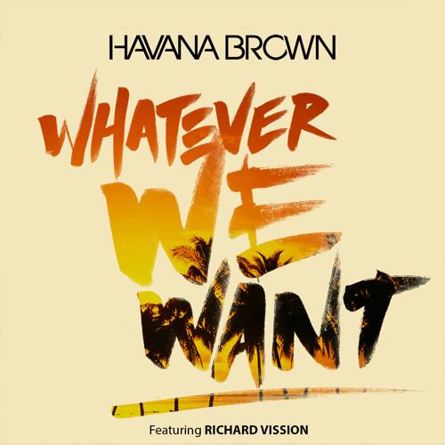 Havana Brown - Whatever We Want Ft Richard Vission (Fluke Remix)