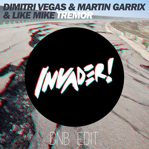 Dimitri Vegas, Martin Garrix & Like Mike - Tremor (Invader! DnB Edit) FREE DOWNLOAD