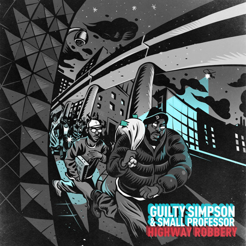 "Guilty Simpson & Small Professor (feat. Boldy James & Statik Selektah) - ""I'm The City"""