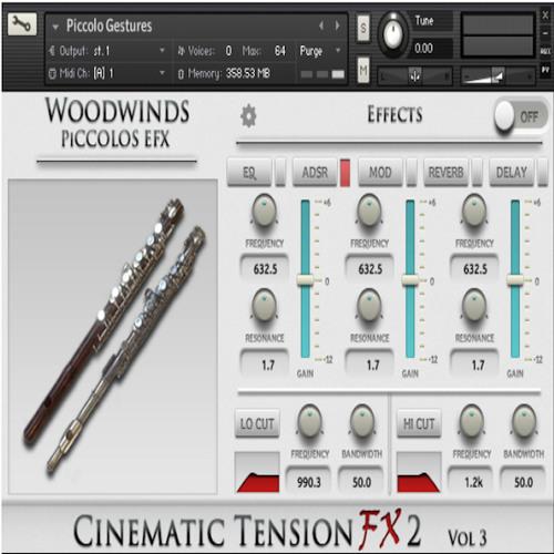 Cinematic Tension FX2 Kontakt Instrument Demos
