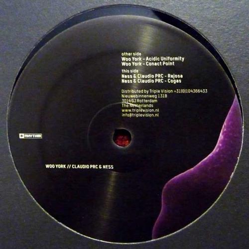 Woo York / Claudio PRC & Ness - Acidic Uniformity EP [PRRUKBLK001]