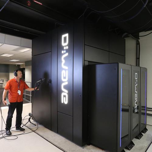 DWAVE: Quantum Computer@NASA_Ames: Rough:Live/Mix