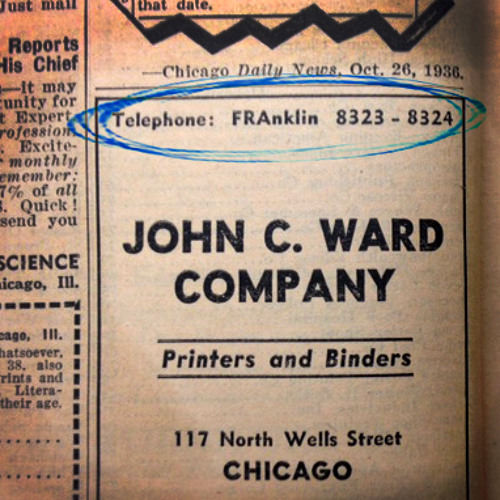 Old-school phone dialing and Chicago's water mecca