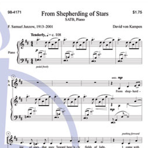 FROM SHEPHERDING OF STARS (SATB, piano) - Concordia Publishing House demo