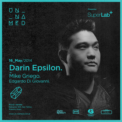 Darin Epsilon - Live from Unnamed @ MOD Club in Buenos Aires, Argentina [May 16 2014]
