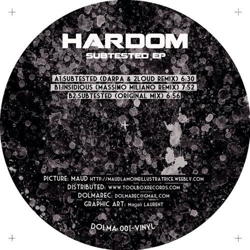 """Hardom - Subtested (Darpa & 2Loud Remix) 12"""" vinyl"""