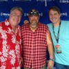 Jeff Foxworthy & Larry The Cable Guy with Mojo Nixon at RedFest