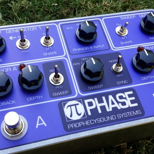 Pi-phase - mono - single channel slow phasing with distortion