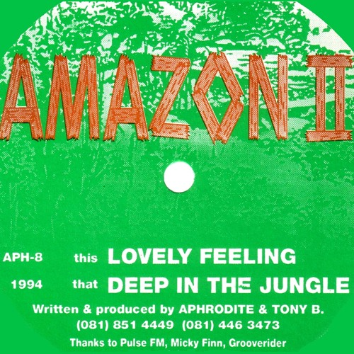 DJ Aphrodite / Amazon II - Deep In The Jungle (1994)