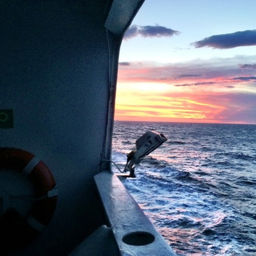 P@D - Sunset On Board - May 2014